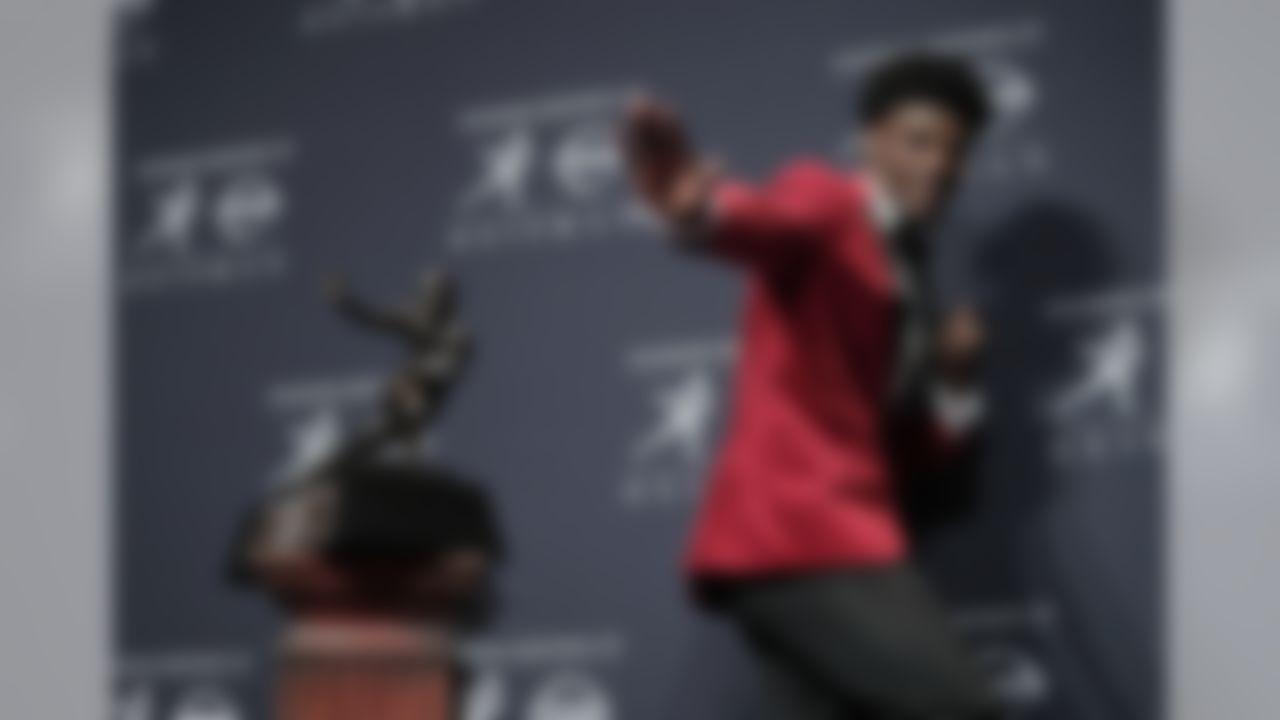 Quarterback, Louisville. (AP Photo/Julie Jacobson)