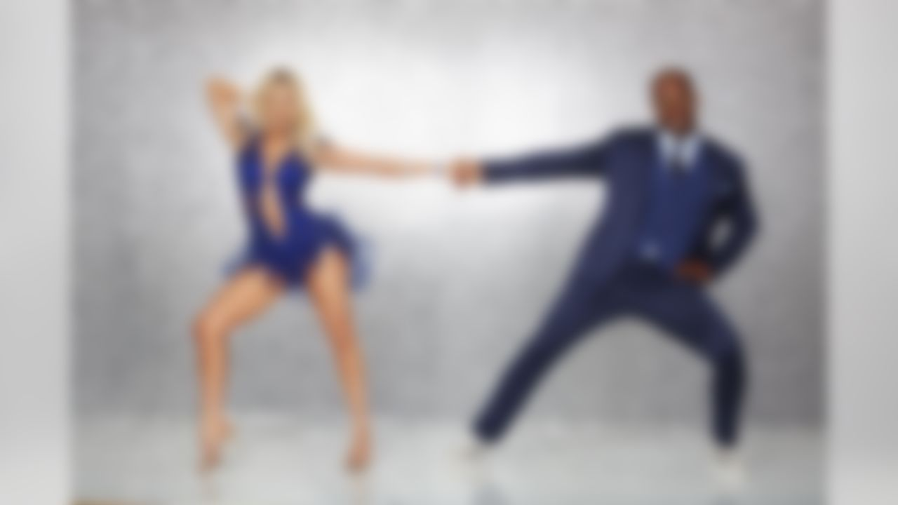 Dancing with the Stars - Witney Carson and Von Miller. (ABC/Craig Sjodin)