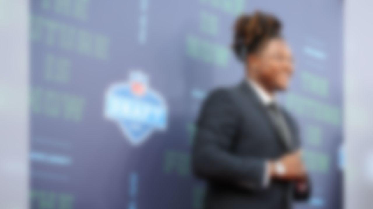 Central Florida linebacker Shaquem Griffin poses for a photo.