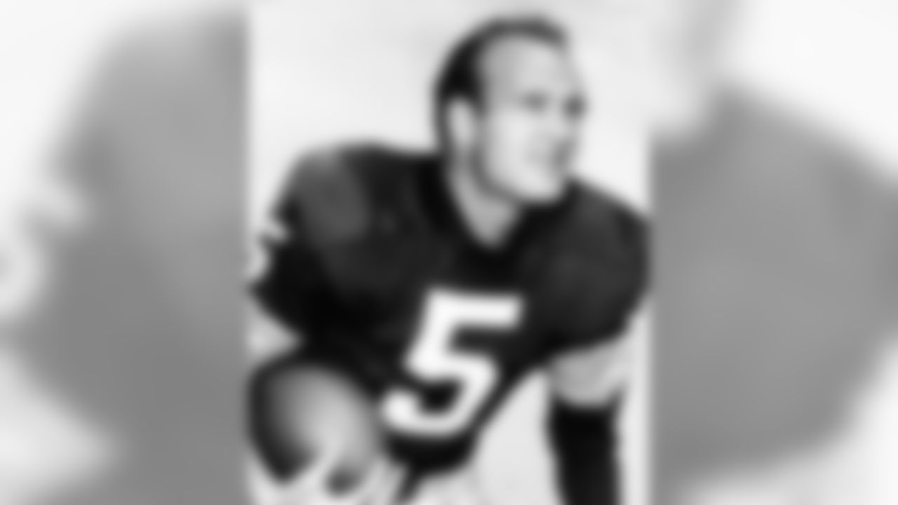 Paul Hornung, of the Green Bay Packers, in an undated photo.  (Associated Press)