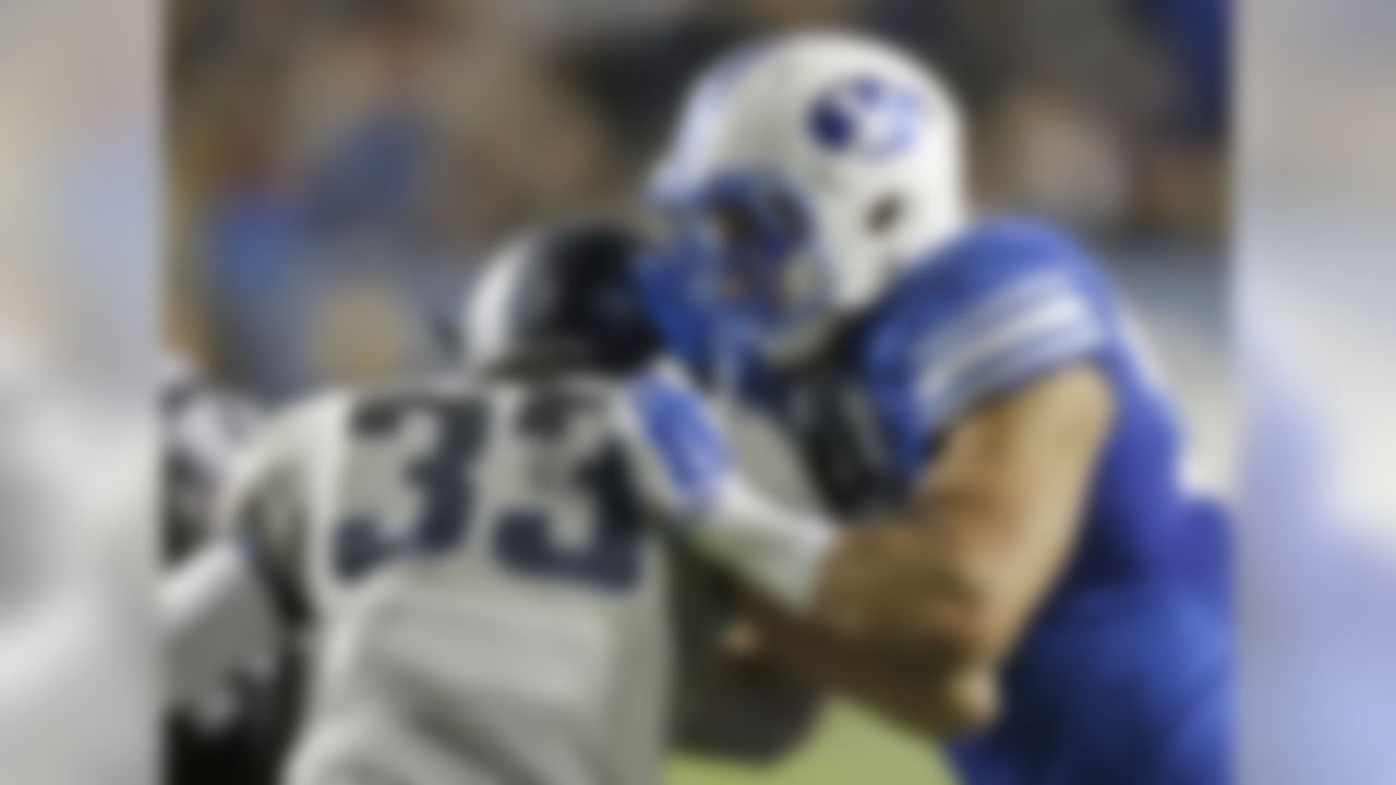 The particulars: 6-foot-7, 265 pounds, senior Conference: None; BYU is an independent The skinny: Kaufisi started at defensive end as a sophomore and had four sacks and seven tackles for loss. He was moved to outside linebacker last season (to replace Detroit Lions second-round pick Kyle Van Noy) and struggled some with the transition, though he did lead BYU with seven sacks and 11.5 tackles for loss. He has 15.5 career sacks. He also has 12 pass breakups in the past two seasons and has returned an interception for a TD. He still is learning the nuances of the position, but his size, pass-rush ability and overall talent are enticing.