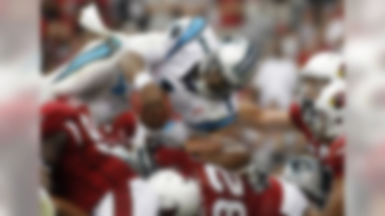 Cam Newton's explosive NFL debut against the Cardinals didn't result in a Panthers win, but it did make Elliot Harrison's list as the 20th-best game of 2011.