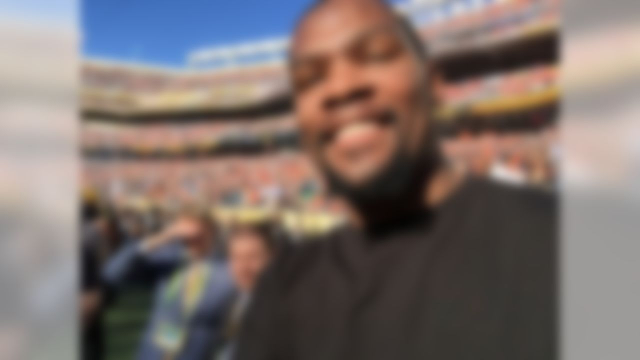 """""""When I was invited by The Players' Tribune and the NFL to be a credentialed photographer on the sidelines during the Super Bowl, I said """"I'll do it"""" before they even finished their question. Seriously, that's a dream offer."""" - Kevin Durant"""