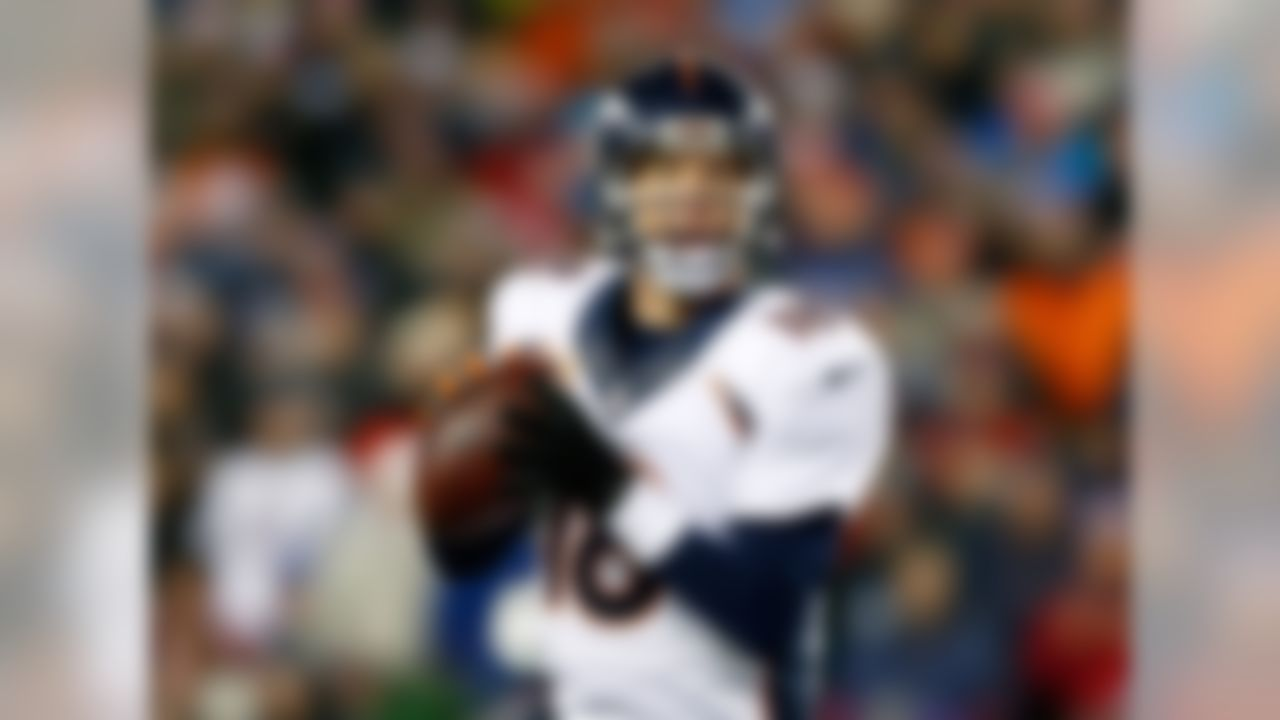Manning has been a primetime fantasy player for nearly the entirety of his career, but at the end of last season, we saw The Sheriff misfire a bit more often. At age 39, it's fair to wonder if Father Time is on the verge of claiming another victim. But it's also hard to look at all the weapons around Manning in the Denver offense and not believe that he can once again be a top-five fantasy quarterback.