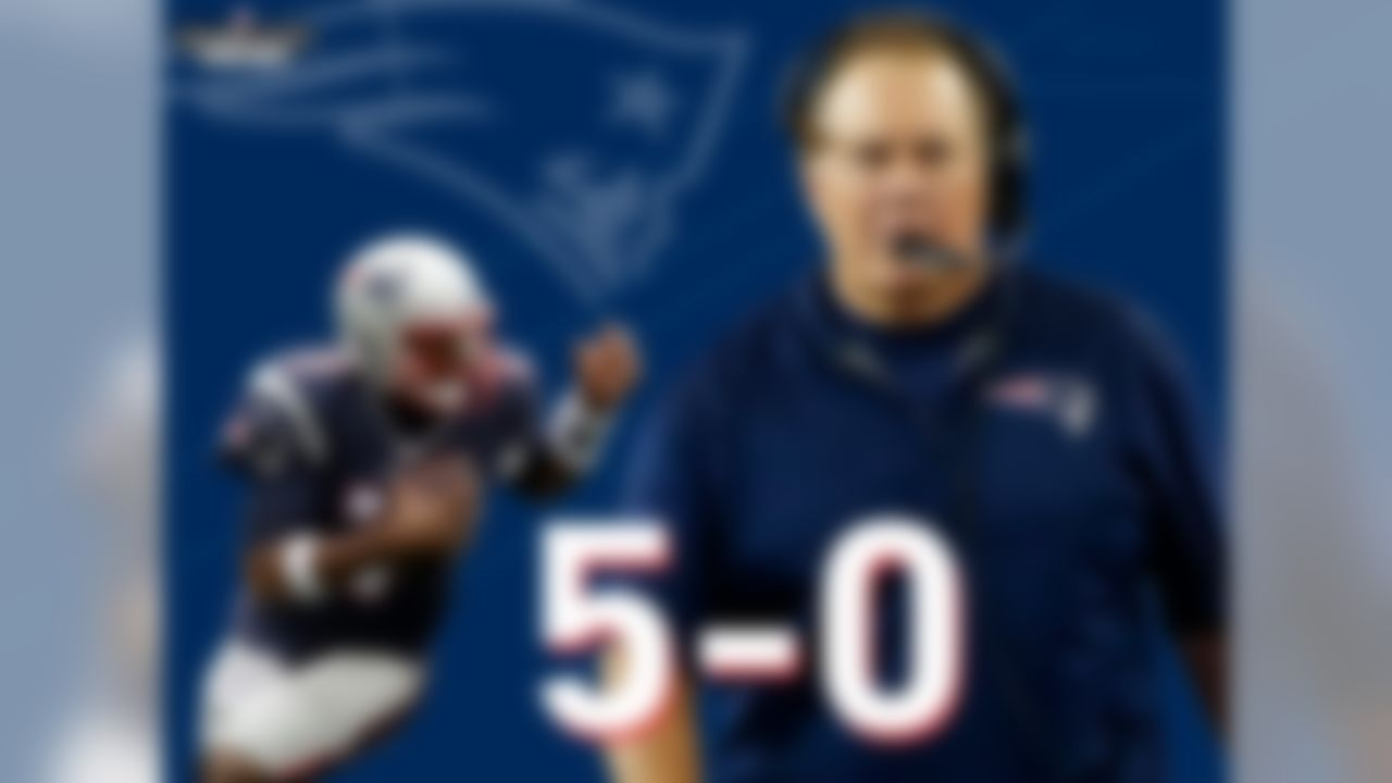 Good news, Jacoby Brissett. Quarterbacks to make their first career start under Bill Belichick are 5-0, the best such mark in NFL history. Brissett could join Todd Philcox, Eric Zeier, Tom Brady, Matt Cassel, and Jimmy Garoppolo, who all earned wins in their maiden NFL starting voyage.