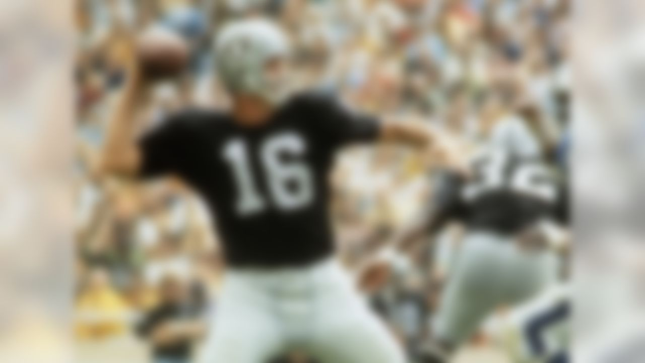 Along the course of his storied 26-year career as a quarterback and kicker, George Blanda amassed a myriad of records, some better than others. Brett Favre was able to surpass Blanda's record for the most interceptions all-time. If Blanda were alive today he'd likely be rooting for Mark Sanchez to overtake his other unsightly record - 42 interceptions ... in a single season.