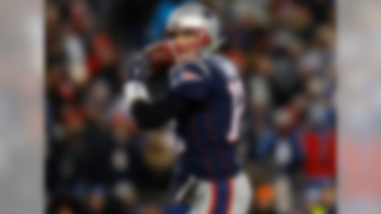 New England Patriots quarterback Tom Brady became the first QB to ever throw 50 TD passes in one season in 2007. Six seasons later, Peyton Manning became the second, besting Brady by tossing 55 TD passes.
