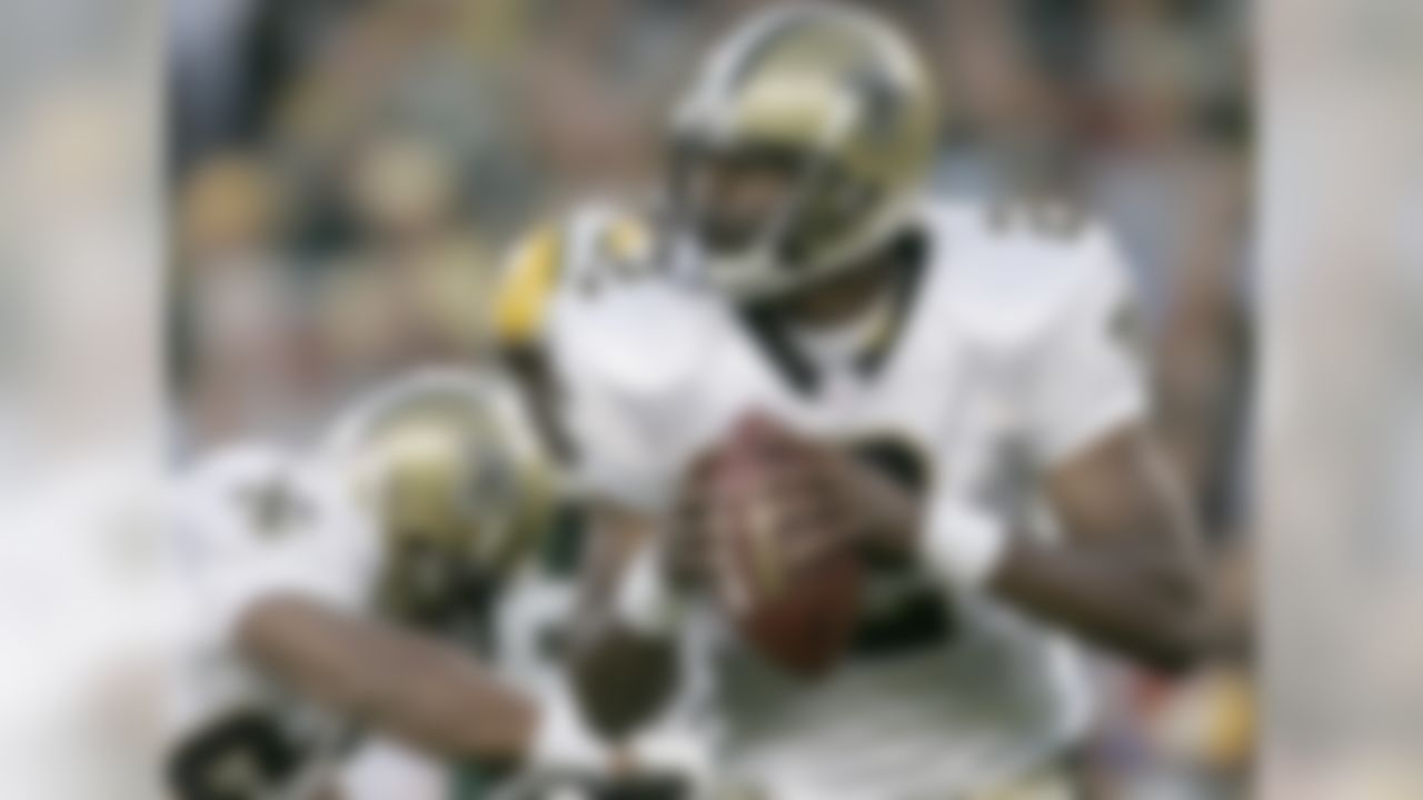 A typical pick-and-store quarterback choice of Ron Wolf in Green Bay, Brooks was traded to the Saints in 2000 and went on to start 90 career NFL games.