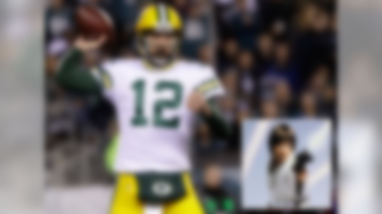 "The golden boy and hero for the Packers is a parallel to the hero in the Star Wars franchise. He was under the wing of a master and developed into the most talented Jedi/QB in the galaxy. Much like Luke in ""The Force Awakens,"" Rodgers went into hiding at the beginning of the season but has returned strong in the end."
