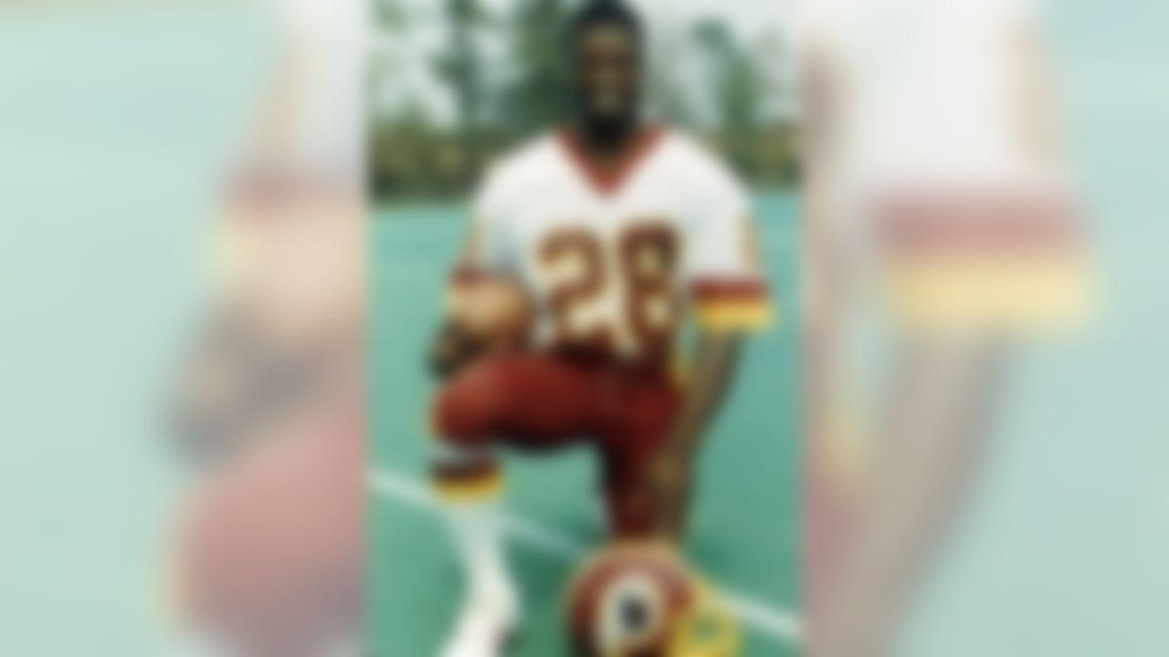Washington Redskins cornerback Darrell Green in 1984. (Photo by NFL/NFL)