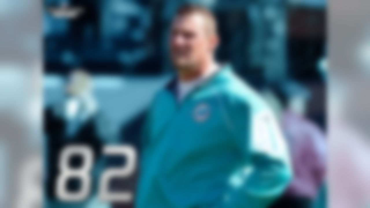 The 82 points scored by the Dolphins in interim coach Dan Campbell's two games are the sixth-most by any head coach in his first two games. The record is 93 points, held by Rube Ursella with the 1920 Rock Island Independents. Second on the list is the great Jim Thorpe, with 90 points in his first two games coaching the 1920 Canton Bulldogs.