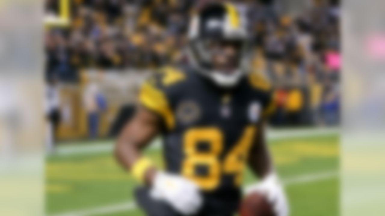 1. Antonio Brown, WR, Pittsburgh Steelers