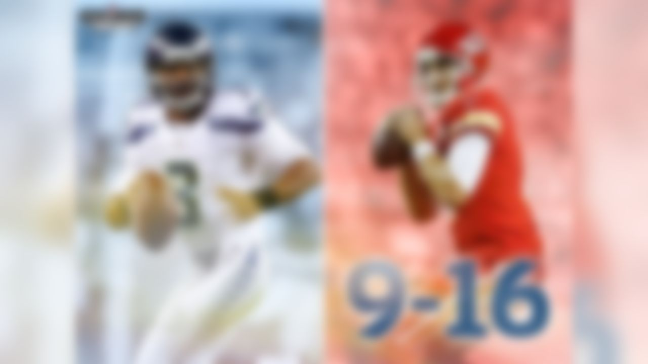 Alex Smith is 9-16 in his career against Super Bowl-winning quarterbacks. This week, he faces Super Bowl XLVIII winner Russell Wilson.