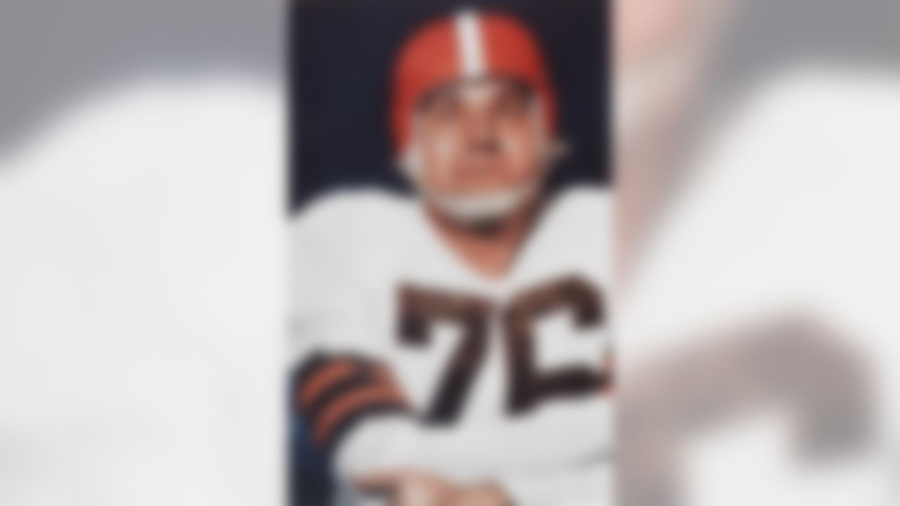 Lou Groza of the Cleveland Browns.  (National Football League)