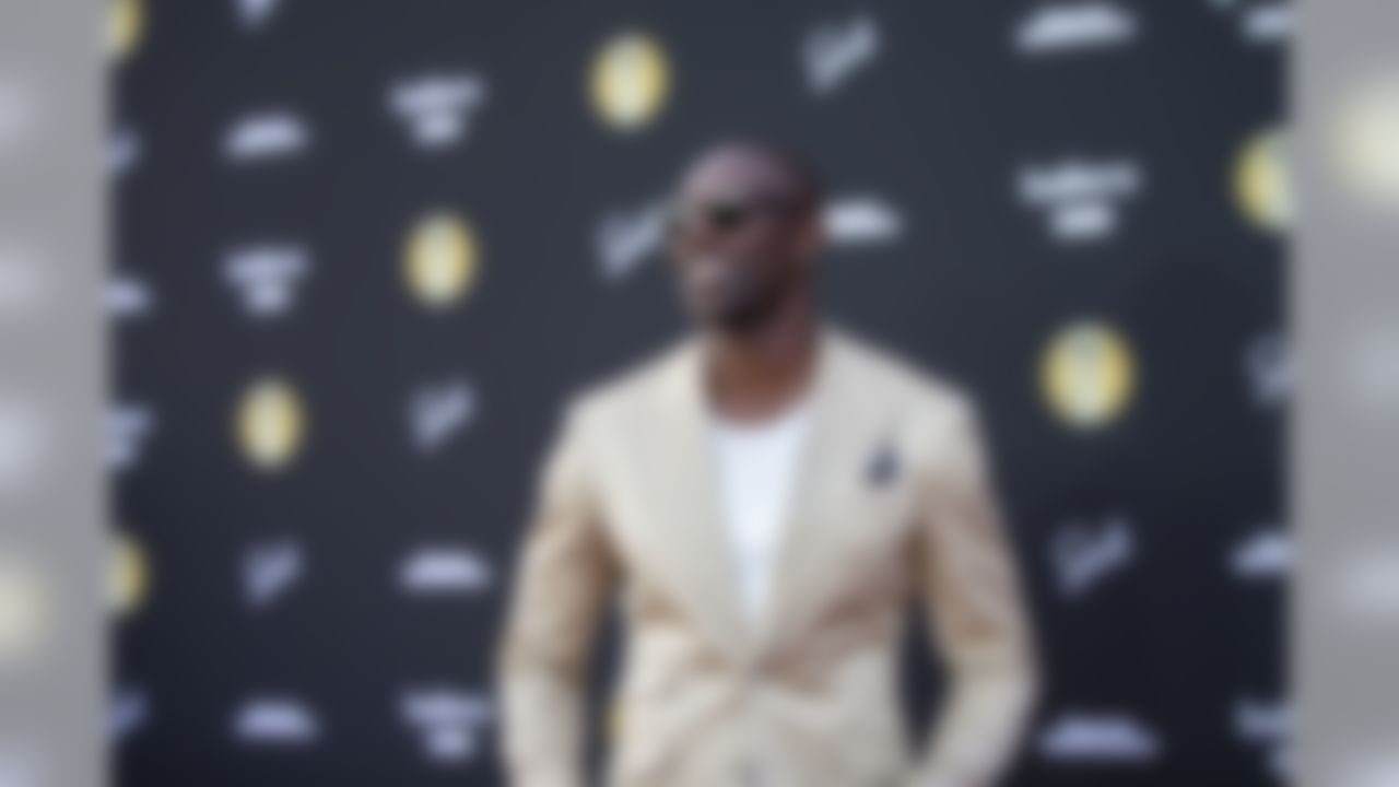 Terrell Owens appears on the red carpet for Sports Illustrated's Fashionable 50 launch party on Thursday, July 12, 2018 in Los Angeles.