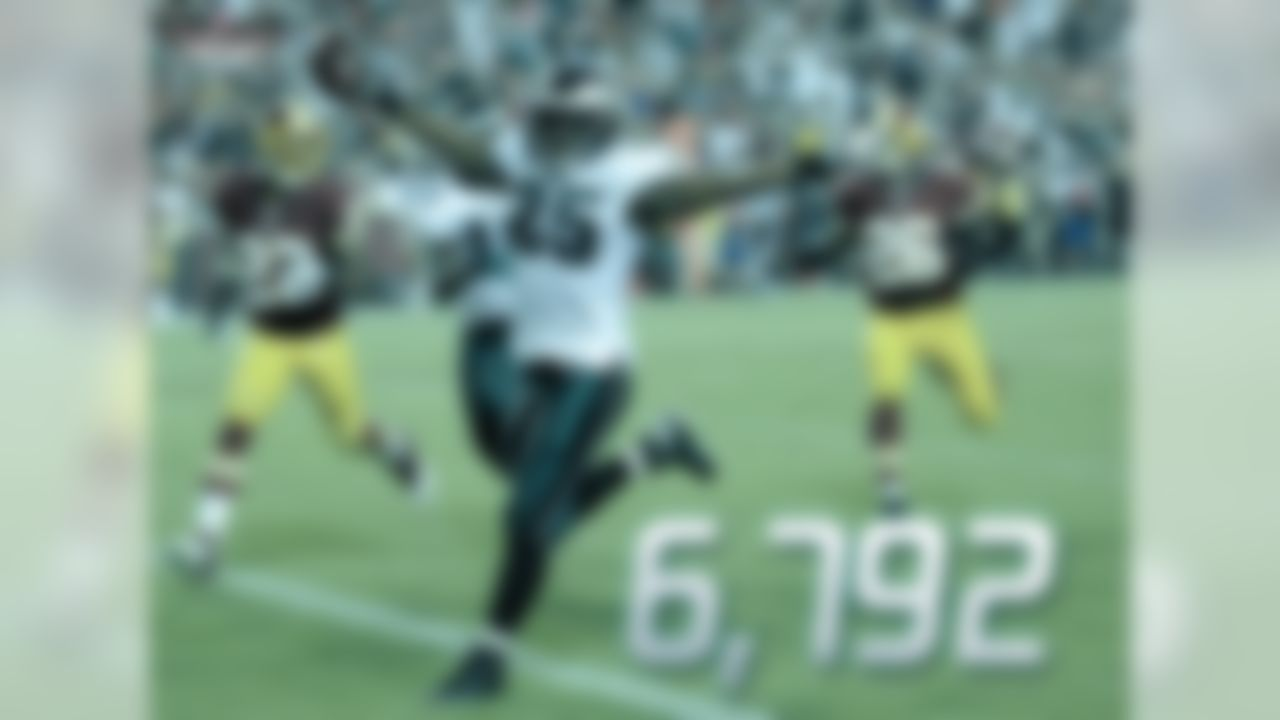 McCoy left Philadelphia as the franchise's all-time leading rusher with 6,792 yards. In 2011, McCoy scored 20 total touchdowns (17 rushing, 3 receiving), which set the Eagles' single-season record. McCoy broke Steve Van Buren's record of 18 touchdowns, set in 1945 when the Eagles played a 10-game season. McCoy did drop-off a little in 2014 when he totaled 5 touchdowns compared to 11 in 2013. After posting back-to-back 1,300 yard rushing seasons McCoy was traded by head coach Chip Kelly to Buffalo for LB Kiko Alonso.