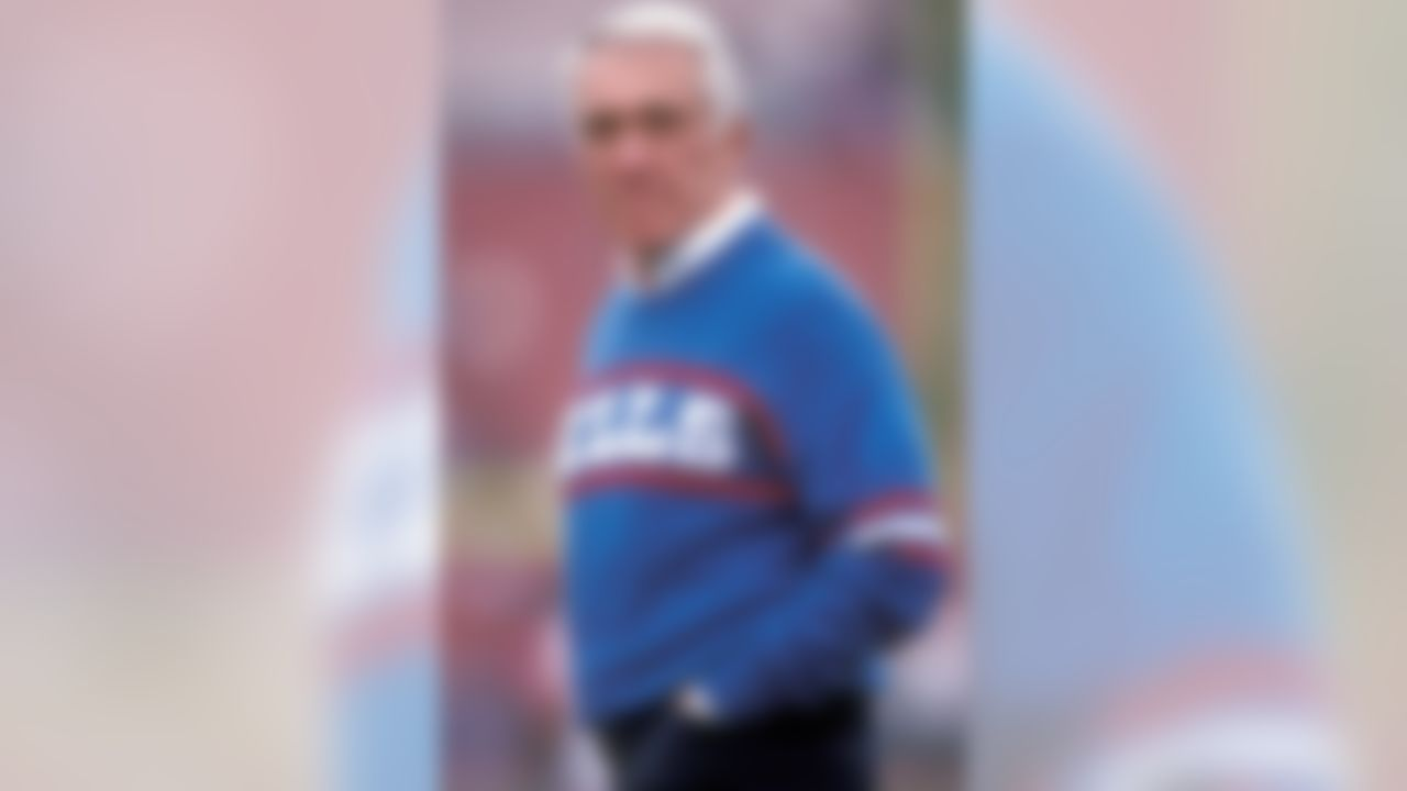 Buffalo Bills Head Coach Marv Levy (Photo by Peter Brouillet/NFL)