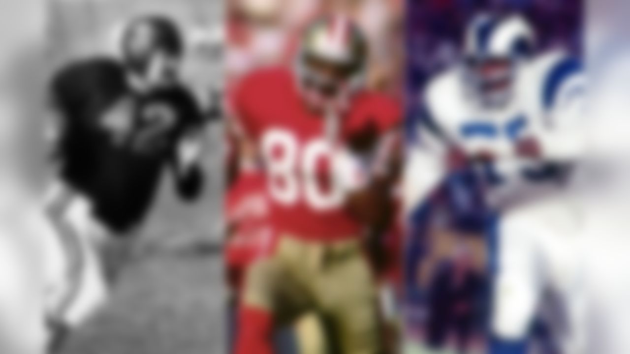 """Small schools (current Football Championship Subdivision or below) arguably have produced the most impressive list of NFL greats. Take a look at this impressive list of the top 10 small-school NFL stars, the order of which was determined by the rankings in the """"The Top 100: NFL's Greatest Players"""" countdown that originally aired on NFL Network in 2010."""