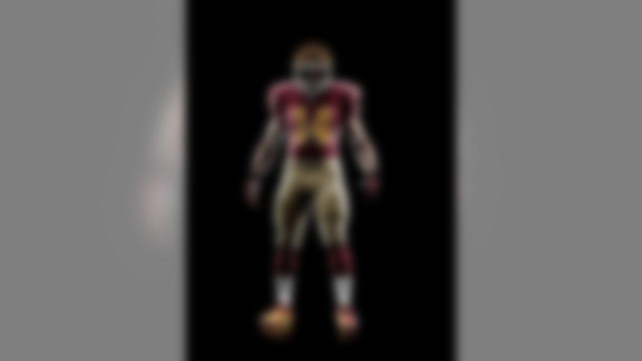 The Washington Redskins unveil their new NIKE 80th Anniversary uniforms.
