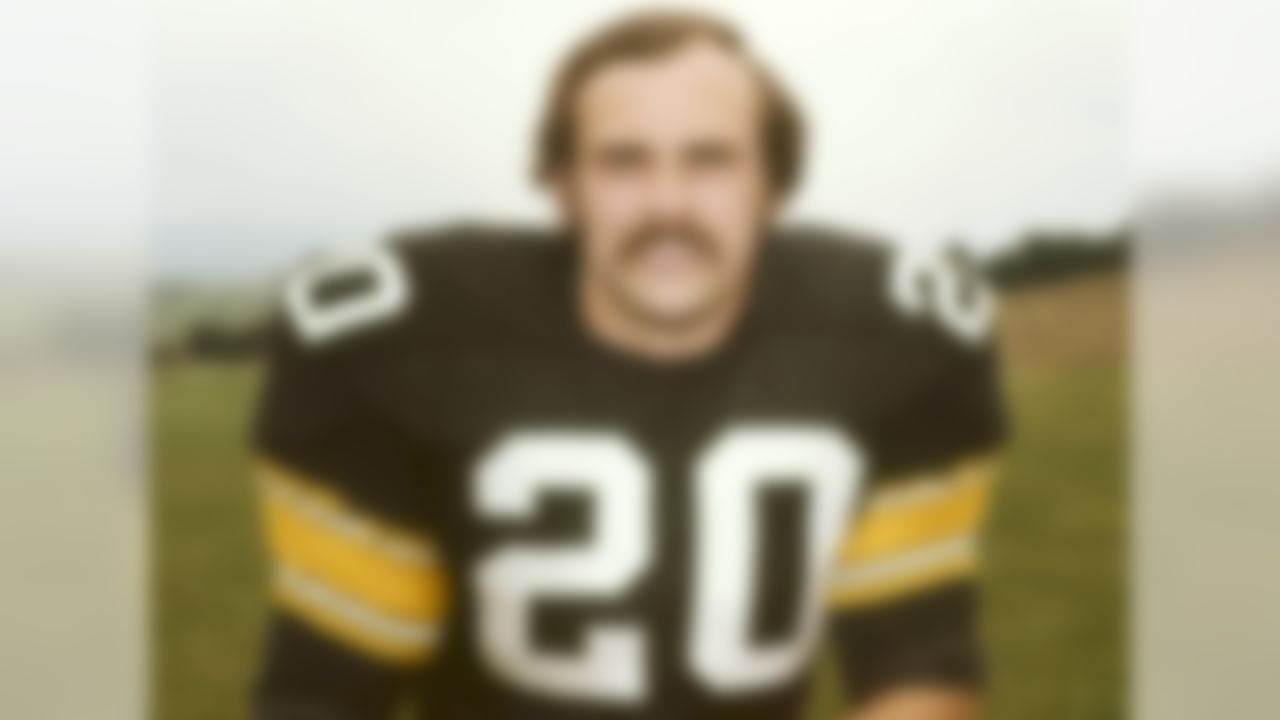 The original comeback story. After his rookie season, he was drafted into the U.S. Army in 1969 and fought in Vietnam. During a battle, he was shot in the left thigh and hit by grenade shrapnel in his right leg and never expected to play football again. After many seasons spent struggling to return, he finally made the team again in 1974, where he was basically a starter until he retired in 1980 with four Super Bowl titles, more than 3,000 yards rushing, 1,200 receiving, 25 touchdowns, one book (Fighting Back) and one TV movie to his credit.
