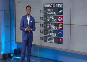 Five sneaky running backs to start in Week 4 | 'NFL Fantasy Live'