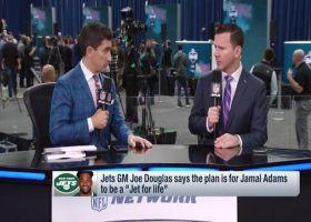 Rapoport breaks down GM Douglas' comments on Adams, Bell