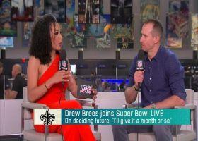 Drew Brees explains factors that will decide his future