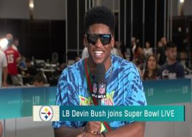 Devin Bush grades his rookie season with Steelers