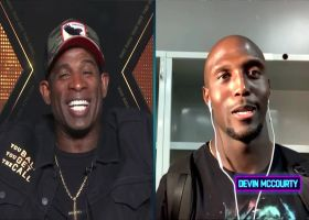 Deion Sanders heaps praise on New England safety Devin McCourty for interception streak