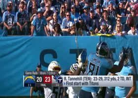 LaDainian Tomlinson, David Carr and Willie McGinest reveal top performers of Week 7
