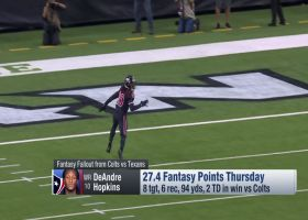 Fantasy winners from Colts-Texans Week 12 'TNF' matchup | 'NFL Fantasy Live'