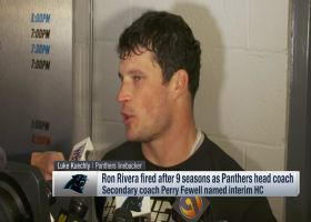 Luke Kuechly and Greg Olsen react to Ron Rivera's firing