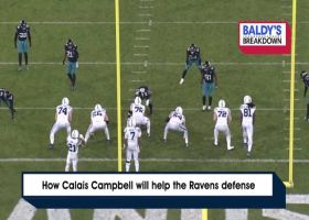 How Calais Campbell bolsters Baltimore's defense | Baldy's Breakdowns