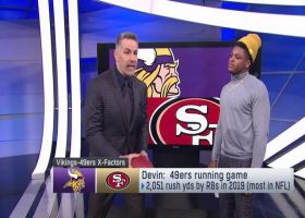 Devin Bush picks X-factors for Vikings-49ers