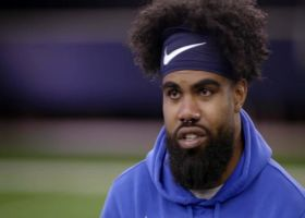 Ezekiel Elliott sits down with Michael Irvin to talk about the pressure on the Cowboys