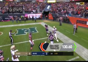 Next Gen Stats: Measuring total distance covered on Cordarrelle Patterson's 102-yard touchdown