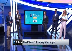 Best Week 1 matchups | 'NFL Fantasy Live'