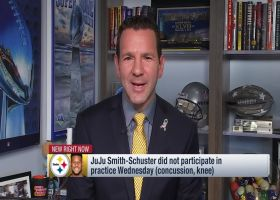 Rapoport: Smith-Schuster, Conner not looking likely to play vs. Bengals