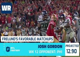 Cynthia Frelund's 10 most favorable Flex matchups | Week 12