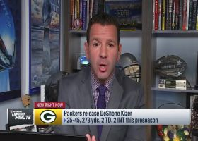 Ian Rapoport details why Green Bay Packers released quarterback DeShone Kizer
