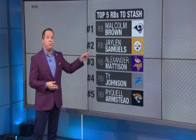 Top 5 running backs to stash in Week 3 | 'NFL Fantasy Live'