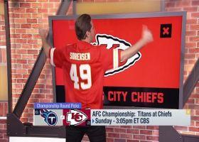 Schrager: Sorensen will spark a Chiefs victory in AFC Championship Game