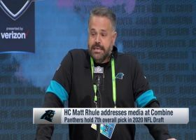 Matt Rhule says he's 'unbelievably excited' to work with Cam Newton