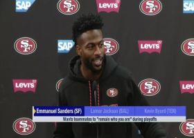 Emmanuel Sanders' message to the 49ers' younger players