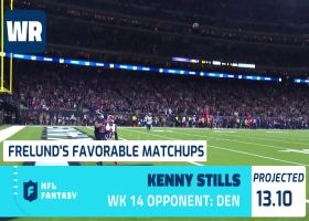 Cynthia Frelund's 10 most favorable Flex matchups | Week 14