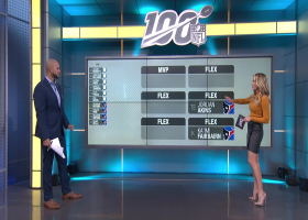 NFL Network's Cynthia Frelund projects top scorers for Indianapolis Colts-Houston Texans on 'Thursday Night Football'