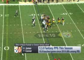 Fantasy fallout from the Pittsburgh Steelers starting quarterback Mason Rudolph | 'NFL Fantasy Live'