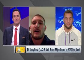 Bosa brothers react to both being named to 2020 Pro Bowl