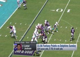 Week 1 winners | 'NFL Fantasy Live'