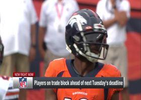 Ian Rapoport reveals two veteran Broncos who could be dealt before trade deadline